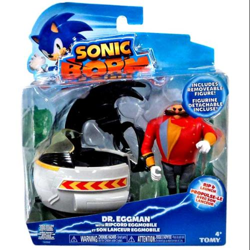 Sonic The Hedgehog Ripcord Launcher Eggman Action Figure [Ripcord Eggmobile]