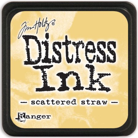 Distress Mini Ink Pad-Scattered (Straw Envelope)