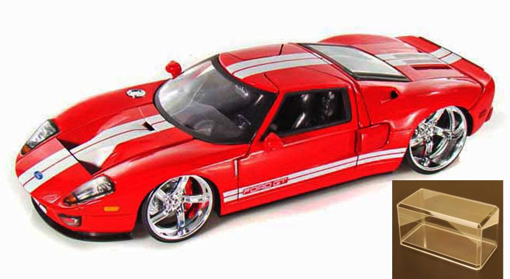 Cast Car Accessory Package Ford Gt Red Jada Toys Bigtime Kustoms