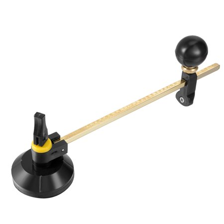 - 16 Inch Adjustable Compasses Type Glass Circle Circular Cutter with Suction Cup