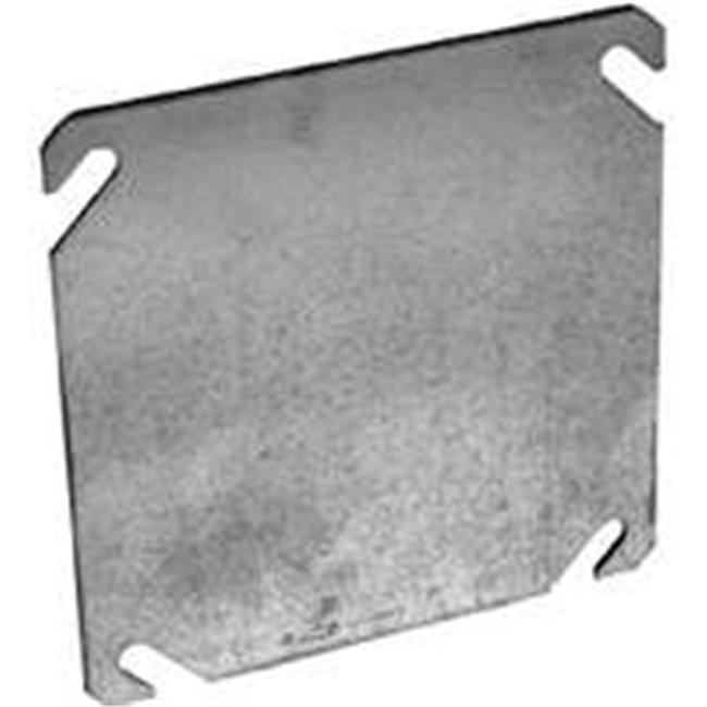 Flat Blank Cover - 4 In. Sq.