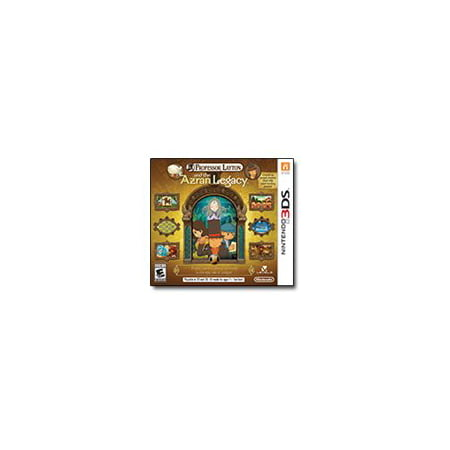 Professor Layton and the Azran Legacy - Nintendo (Professor Layton And The Azran Legacy Collection)