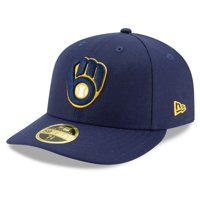 Milwaukee Brewers New Era Home 2020 Authentic Collection On-Field Low Profile Fitted Hat - Navy