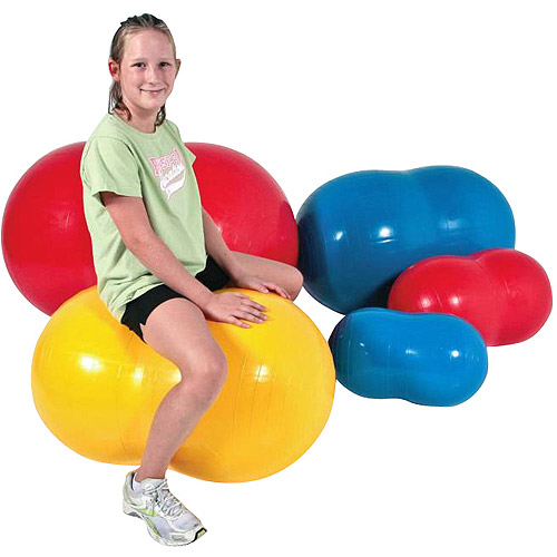 "Sportime Physio-Roll Exercise Ball, 27.6"", Blue"