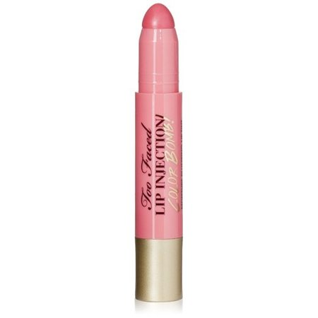 Too Faced Lip Injection Color Bomb Plumping Lip Tint Coral Pop .10 Oz