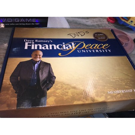 Financial Peace University DVD Home Study Kit - amazon.com