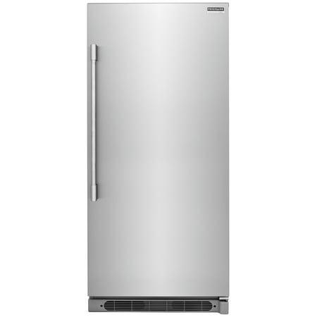 Frigidaire FPRU19F8R 32in Wide 19 Cu  Ft  Upright Refrigerator with PureAir  Filtration System
