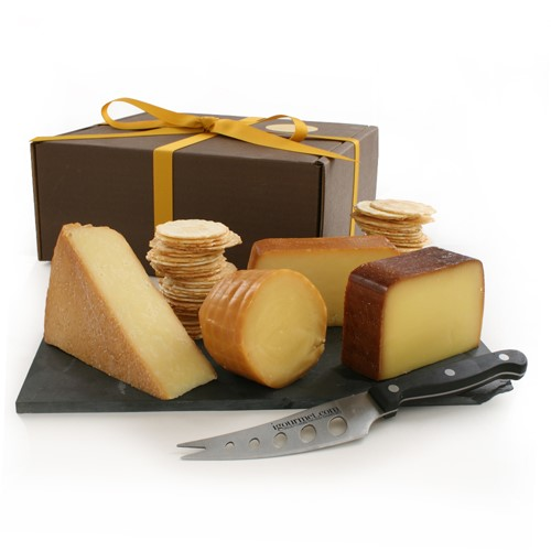 Smoked Cheese Assortment in Gift Box by