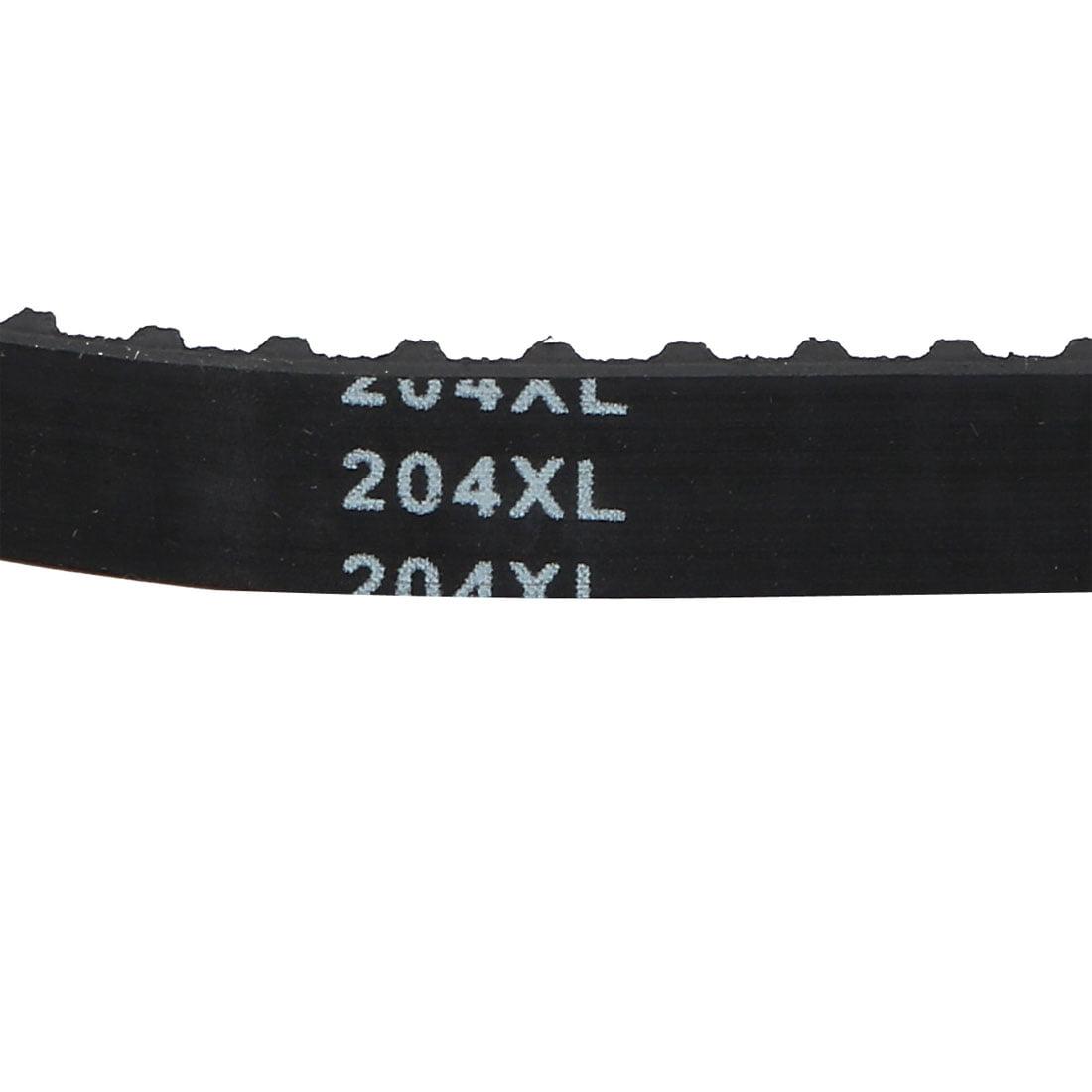204XL Timing Belt 102 Teeth 10 mm Wide 5.08mm Pitch Stepper Motor Rubber Black