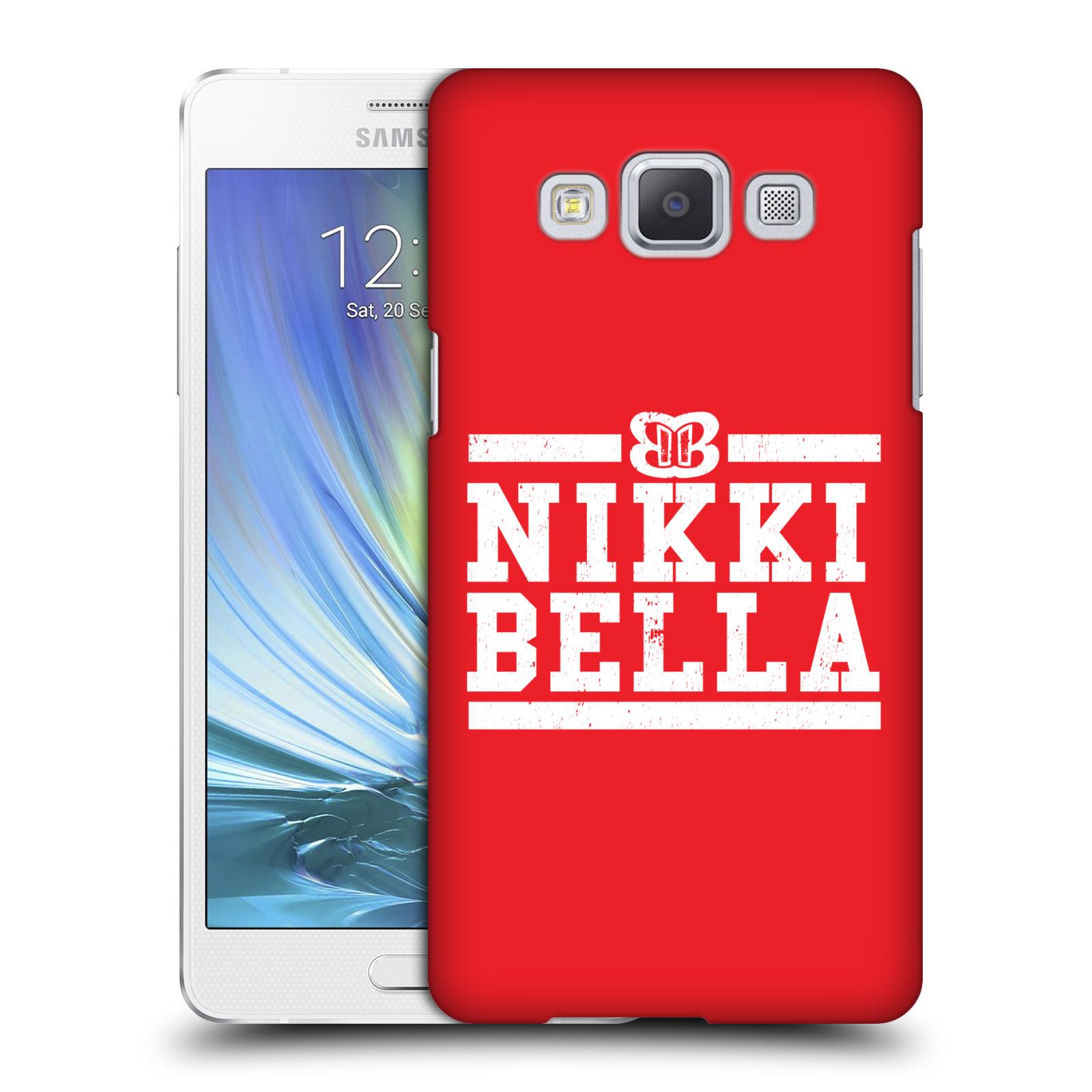 OFFICIAL WWE NIKKI BELLA HARD BACK CASE FOR SAMSUNG PHONES 2