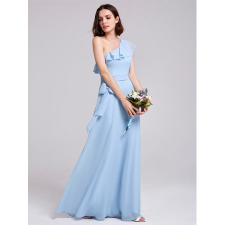 d0d4ac66d6 Ever-Pretty Womens Plus Size Long Summer Holiday Party Casual Maxi Dresses  for Women 72112 Blue US16