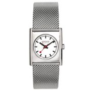 Evo Cube Womens Stainless Watch - Mesh Bracelet - White Dial - A658.30320.16SBM