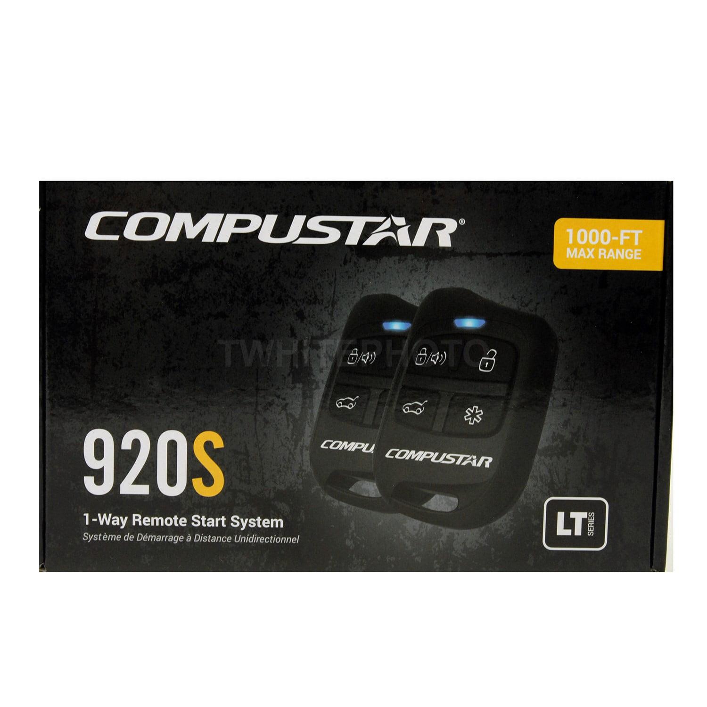 Compustar CS920-S 1-Way 1000-ft Auto Remote Car Start /& Keyless Entry Kit
