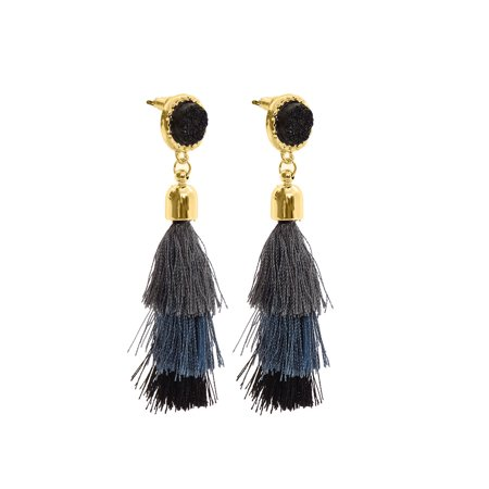 Prom Invitation Ideas (Multicolor Women Tassel Earrings Fashion Jewelry for Ladies Gift Ideas Jewerly Prom Party Wear)