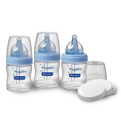 BREASTFLOW BISPHENOL-FREE 5OZ. BOTTLE (3-PACK)