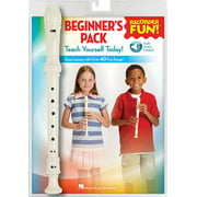 Recorder Fun! Beginner's Pack with Flute : Teach Yourself Today - Easy Lessons with Over 40 Fun Songs!