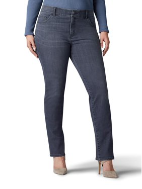 Women's Plus Flex Motion Straight Leg Jean