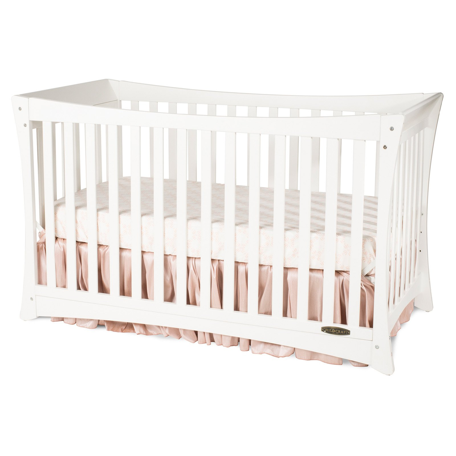 Child Craft Parisian 3-in-1 Convertible Crib White