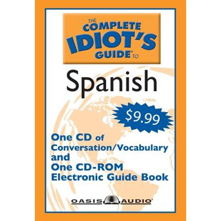Complete Idiots Guide To Spanish  With Cdrom