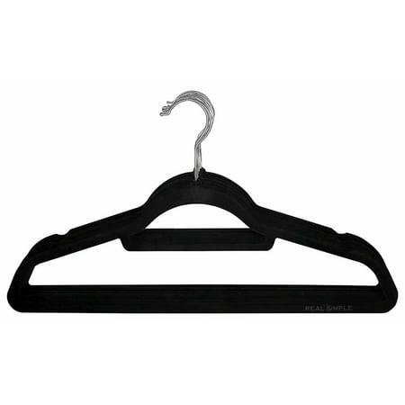 - Greenco 50 Pack Clothes Hangers Black Velvet Hangers Clothes Hanger Ultra Slimline No Slip
