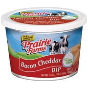 Prairie Farms Farmer Owned Sour Cream Bacon Cheddar Dip, 16 Oz.