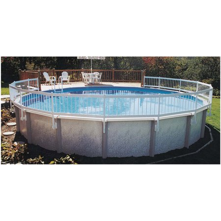 Above ground pool fence kit for Swimming pool supplies walmart