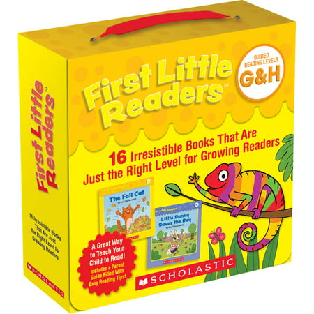 First Little Readers: Guided Reading Levels G & H (Parent Pack) : 16 Irresistible Books That Are Just the Right Level for Growing Readers (Paperback)