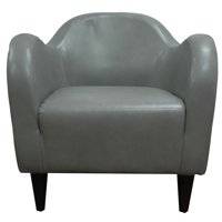 Charleston Dove Leatherette Club Chair