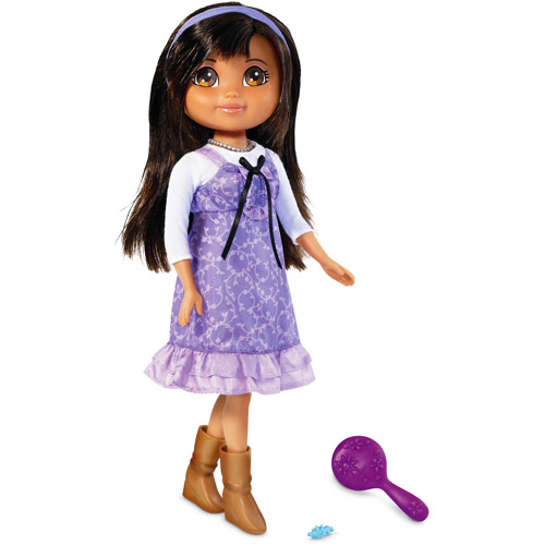 Mattel Dora The Explorer Girl Dora Doll & Secret Links Code