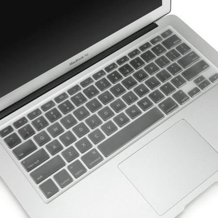 Mosiso - Ultra Thin Clear TPU Keyboard Cover Skin for MacBook Air 13