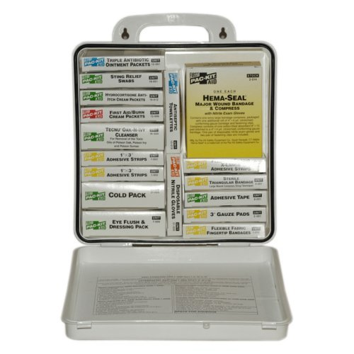 Pac-Kit 24 Unit Plastic First Aid Kit