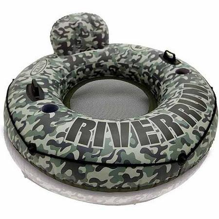Intex Inflatable Camo River Run I Tube Float Lounge