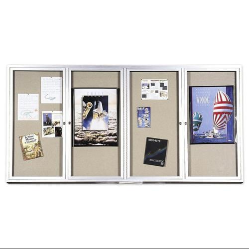 Deluxe Bulletin Board Cabinet w Hinged Door (1 Door/24 in. W x 36 in. H)