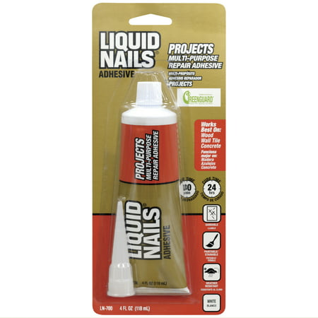 Liquid Nails Small Projects Repair Adhesive, 4 fl. oz
