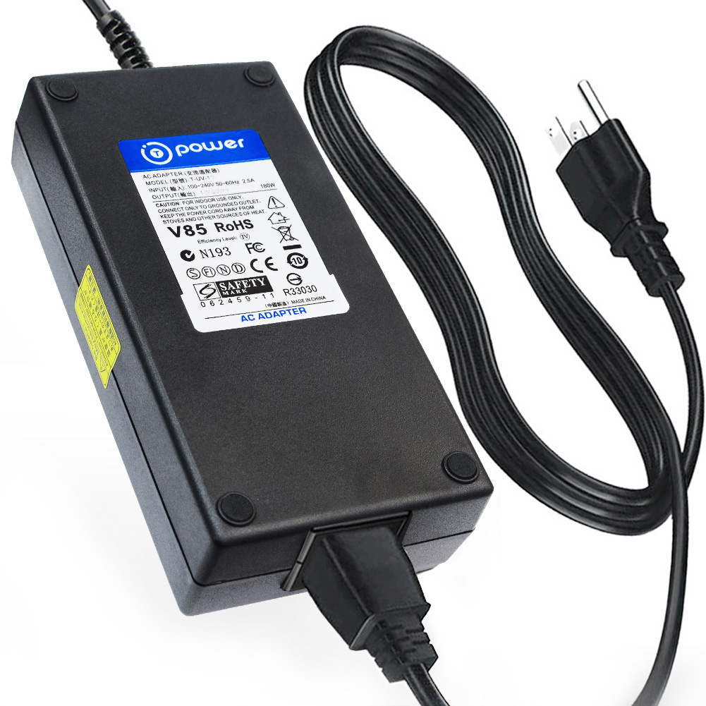 "T-Power (150w ~ 180w ) Ac Dc adapter for HP Envy Recline 23"" 27"" All-In-One PC HP Pavilion 23; HP ProOne 400 G1 All-In-One; 23-O014, 23-k310, 27-K350; 23-h070, 23-h060xt; G5R37UT#ABA, G5R38UT, K1K30UT"