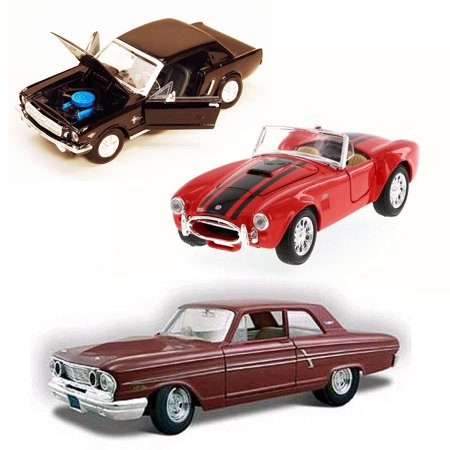 Best of 1960s Muscle Cars Diecast - Set 1 - Set of Three 1/24 Scale Diecast Model (Best Muscle Cars To Restore)