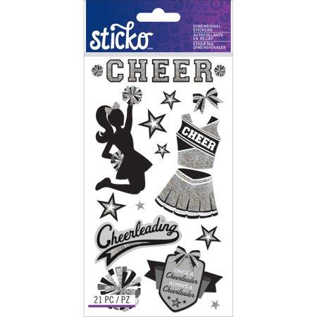 Sticko Stickers-Cheerleading - image 1 de 1