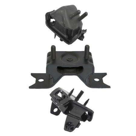 CF Advance For 02-05 Ford Explorer Sport Trac Lincoln Aviator Mercury Mountaineer 4.0L 4.6L RWD Engine Motor and Automatic Transmission Mount Set of 3PCS A5295 A5296 A5297 2002 2003 2004