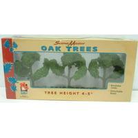 Life Like 1979 Medium Oak Trees (3)