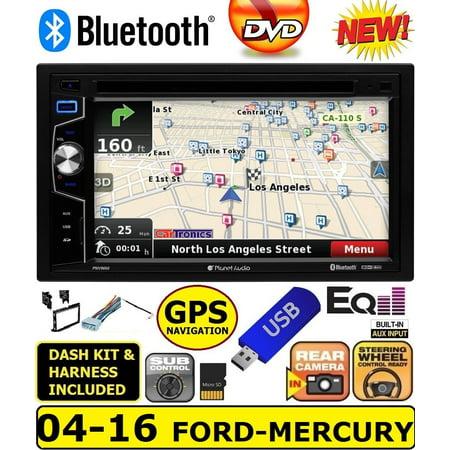 Reference Series Stereo - 2004-2016 FORD F & E SERIES  NAVIGATION GPS CD/DVD BLUETOOTH Car Radio Stereo