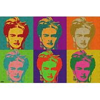 Frida Kahlo Pop-Art Poster 24x36 Modern Art Print Home Decor