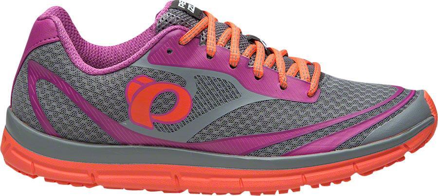 Pearl Izumi E:Motion Road N2 v3 Women's Run Shoe: Monument/Clementine 11