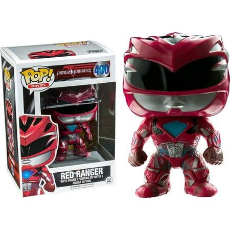 Funko POP Movies: Power Rangers Red Ranger Toy Figure