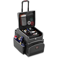 Rubbermaid Commercial, RCP1902467, Small Executive Quick Cart, 1 Each, Dark Gray by Rubbermaid Commercial Products