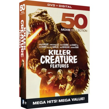 Killer Creature Features: 50 Movie MegaPack - Psycho Killer Movies List