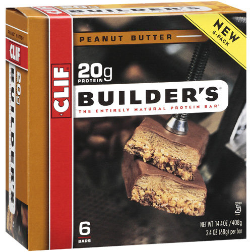 Builder's Peanut Butter Protein Bar, 6pk
