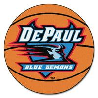 """DePaul Basketball Mat 27"""" diameter"""