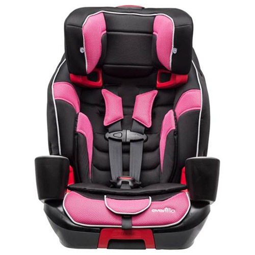 Evenflo Advanced Transitions 3-in-1 Harness Booster Car Seat, Maleah
