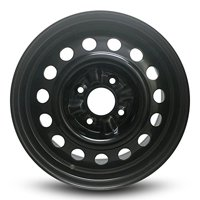 """Road Ready Replacement 15"""" Black Steel Wheel Rim For 1993-2001 Nissan Altima 2003-2006 Sentra 2009-2014 Cube"""