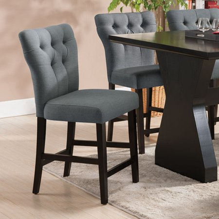 Acme Effie Espresso Counter Height Chair Set Of 2